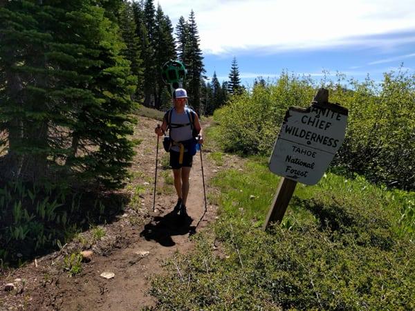 Western States Google Trekker - Granite Chief Wilderness
