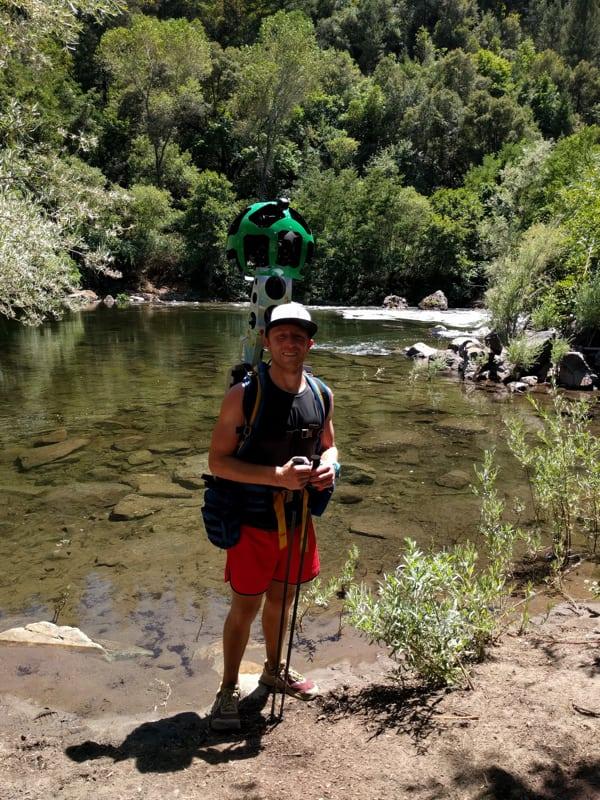 Western States Google Trekker - American River