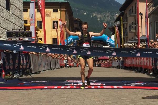 Andy Symonds - 2016 Lavaredo Ultra Trail Champion