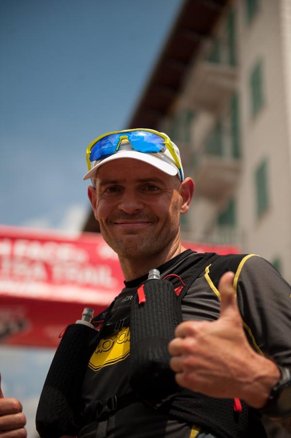 Gediminas Grinius - 2016 Lavaredo Ultra Trail second place