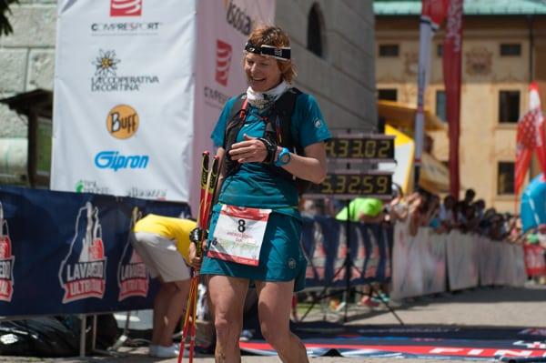 Andrea Huser - 2016 Lavaredo Ultra Trail Champion
