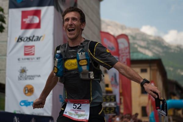 Javier Dominguez - 2016 Lavaredo Ultra Trail third place