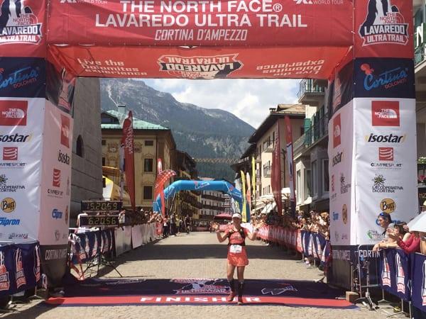 Fernanda Maciel - 2016 Lavaredo Ultra Trail third place