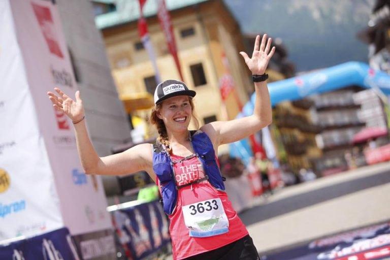 Hillary Allen - The North Face Cortina Trail champion