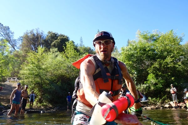 2016 Western States 100 - Jeff Browning - River Crossing