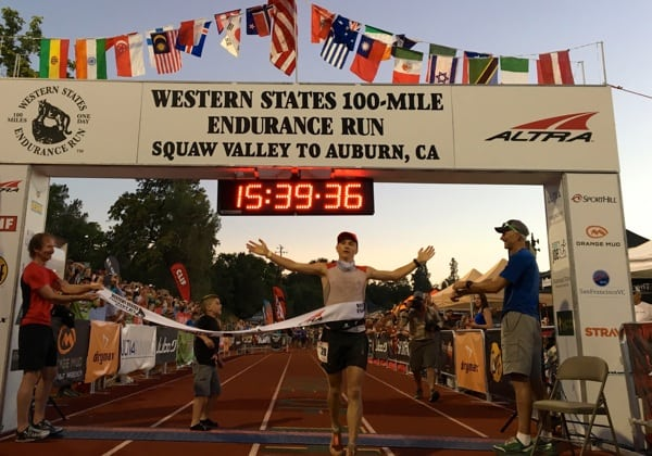 2016 Western States 100 - Andrew Miller - Finish