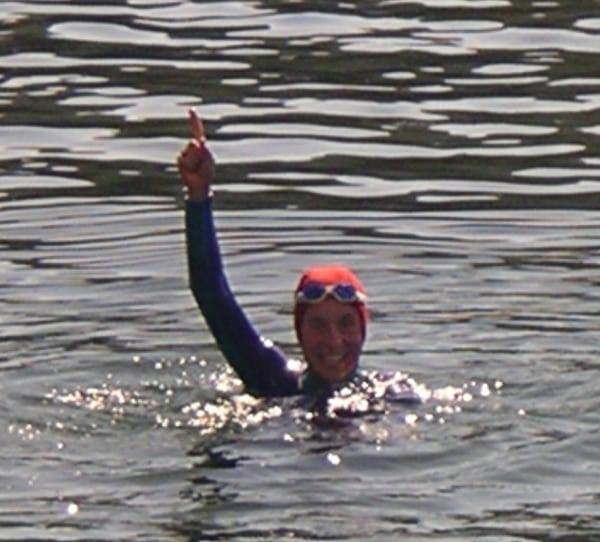 Sunny Blende 6 - Alcatraz swim