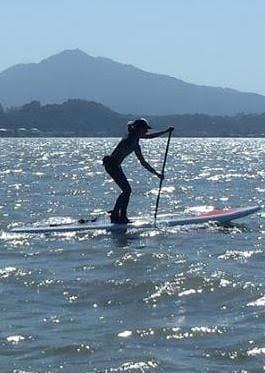 Sunny Blende 12 - Paddle board