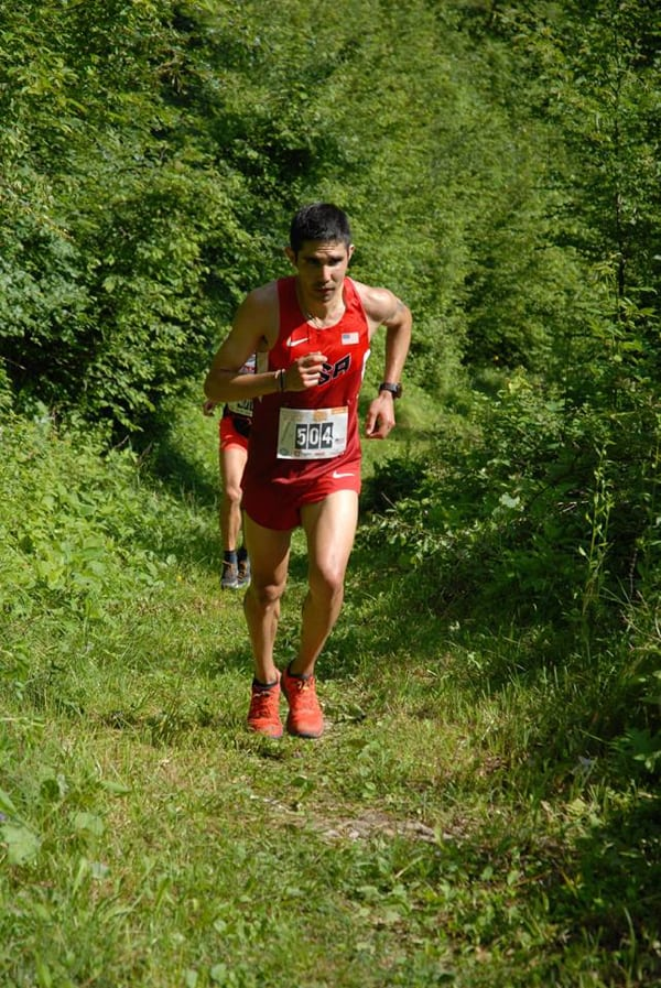 Mario Mendoza - 2016 World Mountain Running Association Long Distance Championships