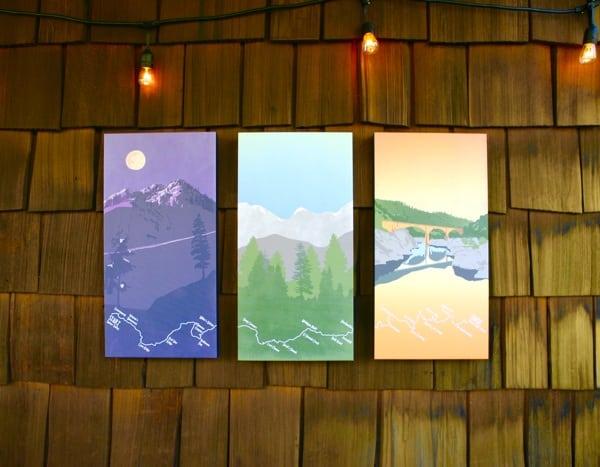 Maggie Tides - Western States Trail Triptych