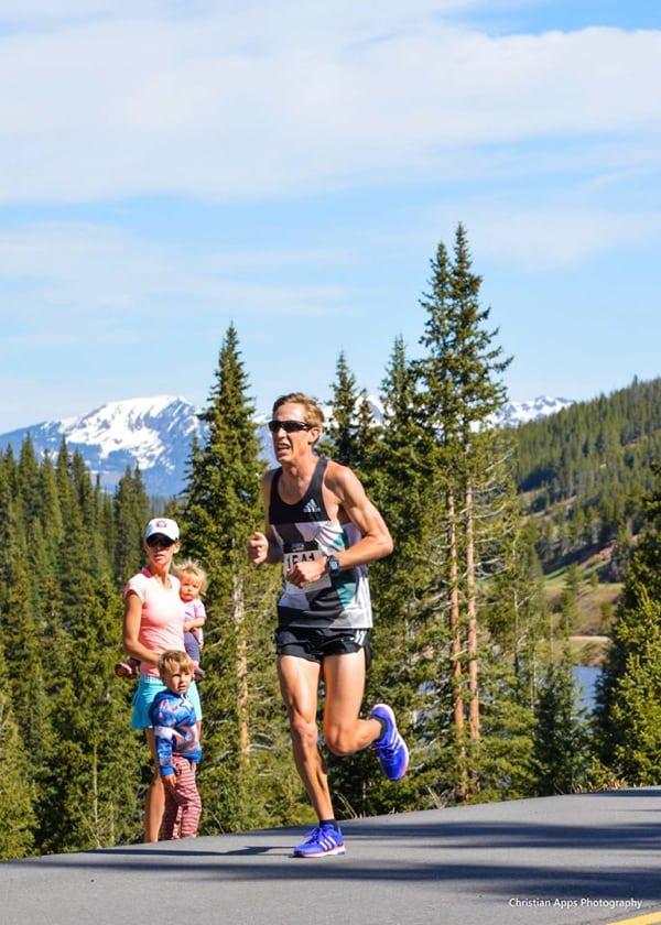 Andy Wacker - 2016 EverBank Vail Pass Half Marathon champion