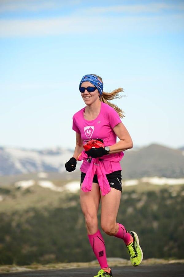 Kim Dobson - 2016 Mount Evans Ascent champion