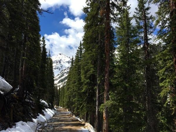 Road 52 toward Storm Peak
