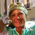 Denise Zimmermann - 2015 UTMB third