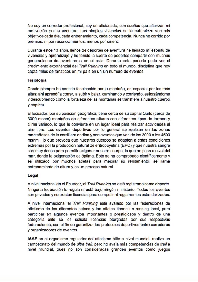 Gonzalo Calisto statement 1