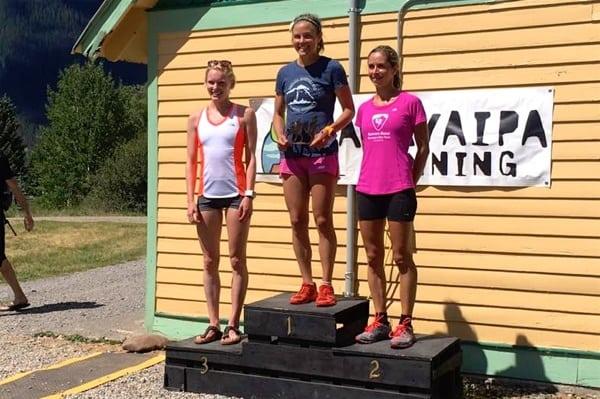 2016 Kendall Mountain Run - Women's Podium