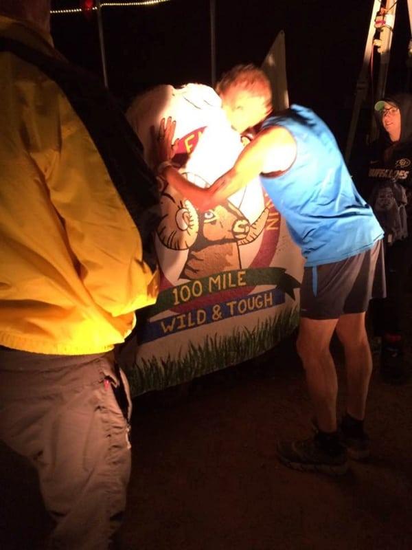 2016 Hardrock 100 - Andy Jones-Wilkins - finish