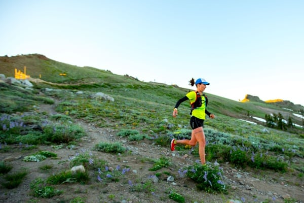 2016 Western States 100 - Aliza Lapierre - High Country