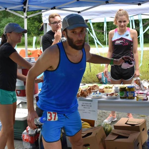 Brian Rusiecki - 2016 Vermont 100 champion