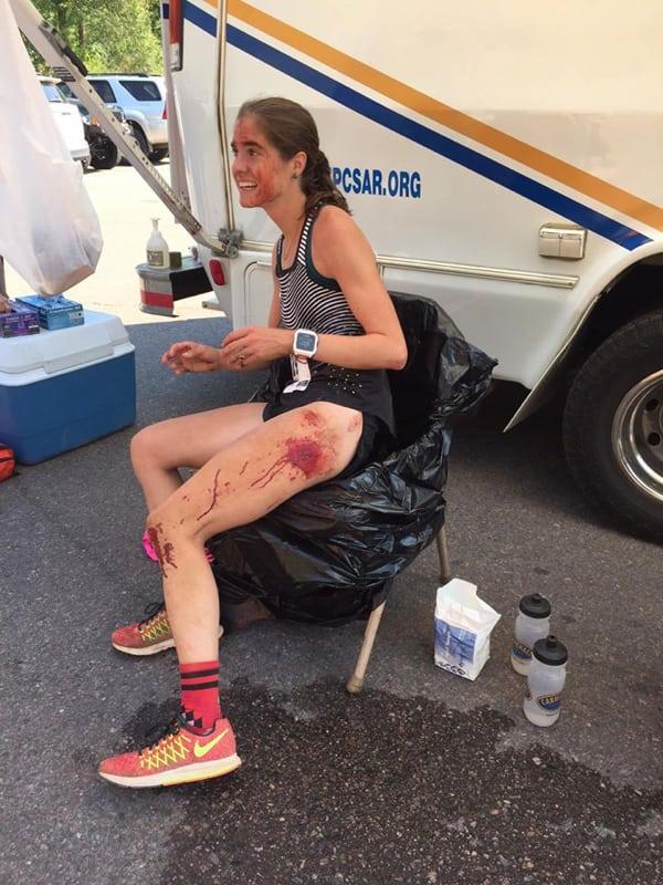 Megan Roche - 2016 Barr Mountain Trail Race