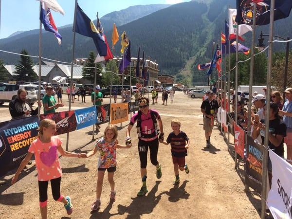 Emma Roca - 2016 Hardrock 100 - Finish