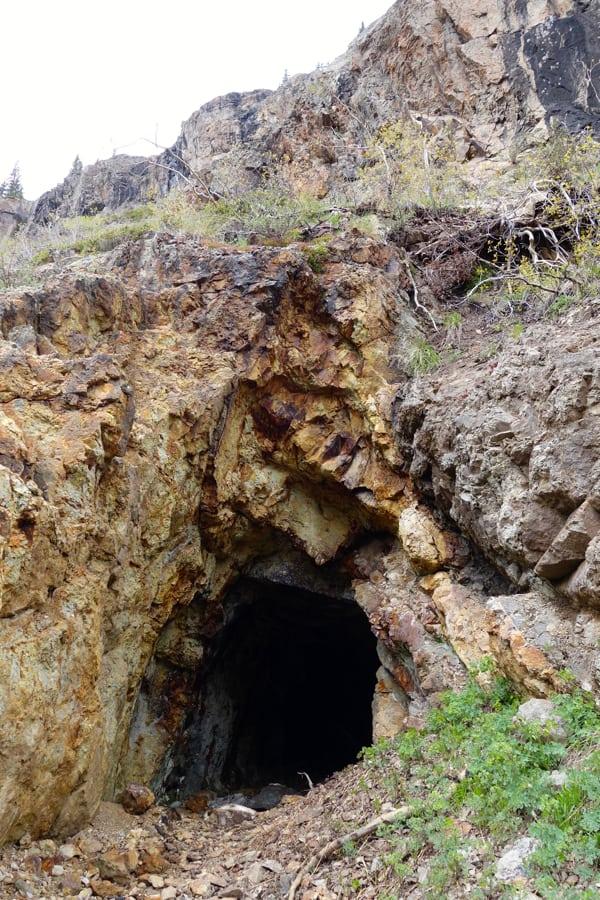 Adit at Bottom of Little Giant Climb