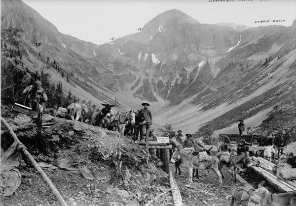 Arrastra Gulch - Ore Transfer Station 1888