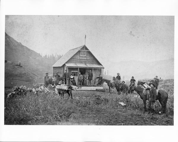 Vaccar's Cabin - Mineral Point - San Juan County, Colorado