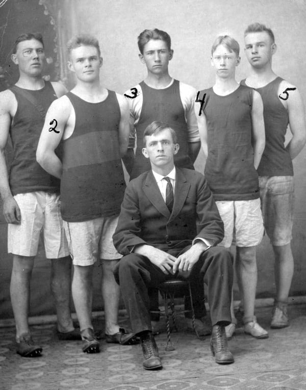 Silverton, Colorado's first track team
