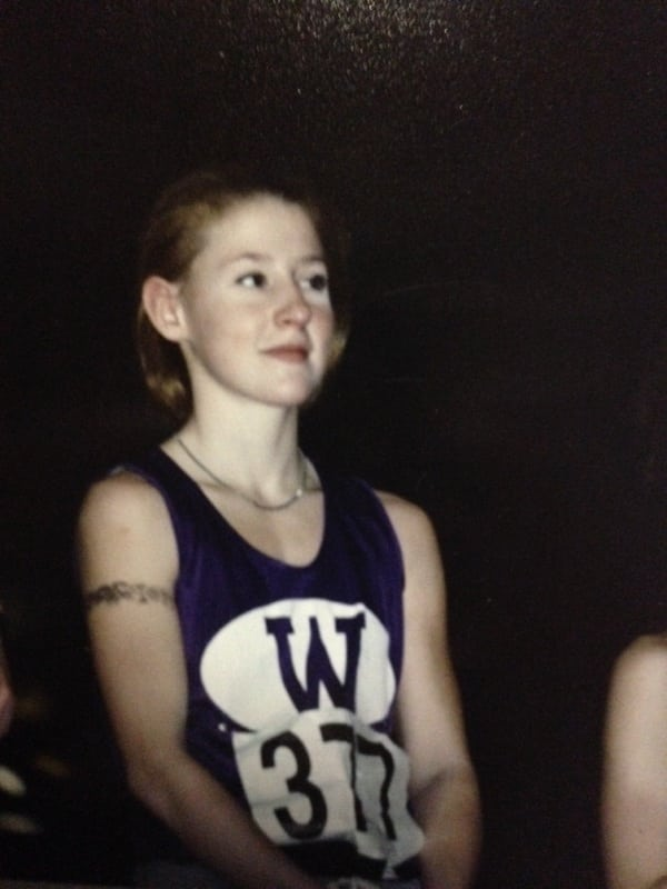 Waterville - 1 mile indoor State Champion - 2001