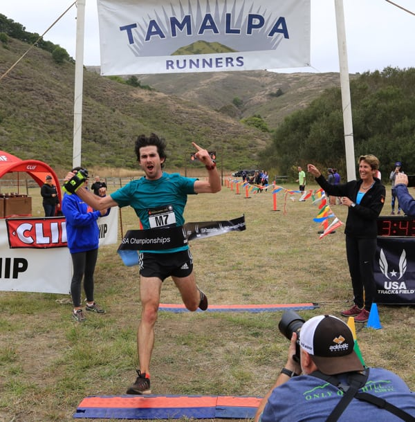 Cody Reed - 2016 Tamalpa Headlands 50k Champion