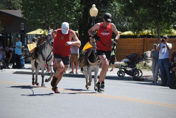 Gold Rush Days Pack Burro Race
