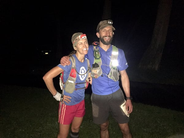 Melissa Beaury and Nate Bender, 2016 Ouray 50 Mile Champions