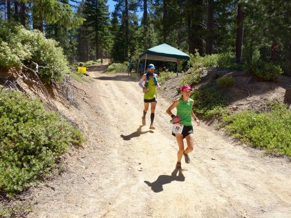 Downhill running form