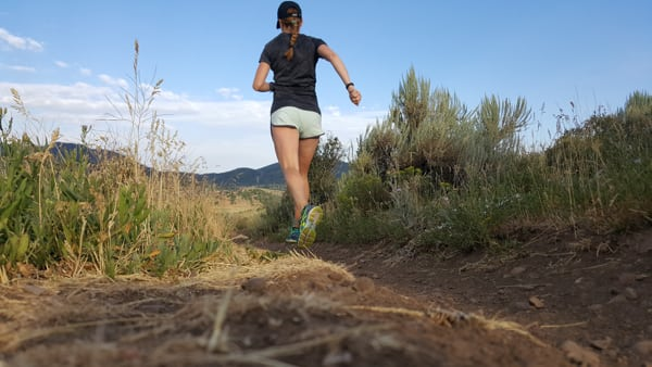 Changing arm swing for balance - trail running