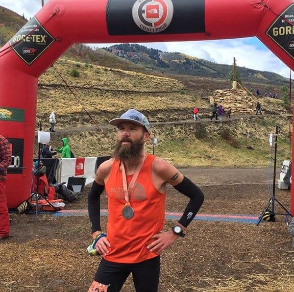 Rob Krar, 2016 The North Face Endurance Challenge 50 Mile - Utah winner