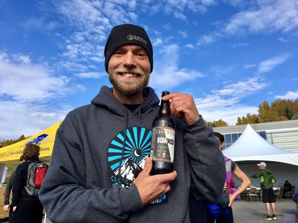 Matias Saari, 2016 Equinox Marathon Champion
