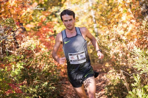 Patrick Smyth 2016 XTERRA Trail Run National Championships Winner.