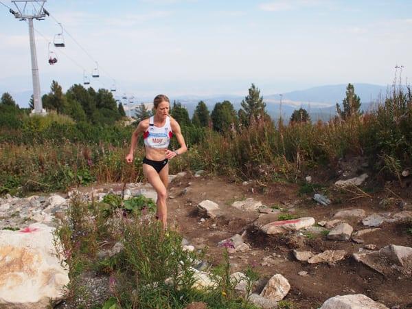 Andrea Mayr - 2016 World Mountain Running Championships winner