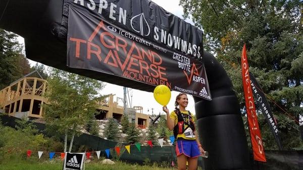 Kylie Collins - 2016 Grand Traverse 40-Mile Run Champion