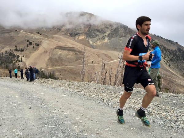 Kiril Nikolov - 2016 The Rut 28k second place