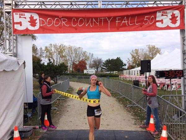 2016 Door County Fall 50 Mile - Jamie Blumentritt