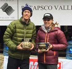 2016 Patapsco Valley 50k winners