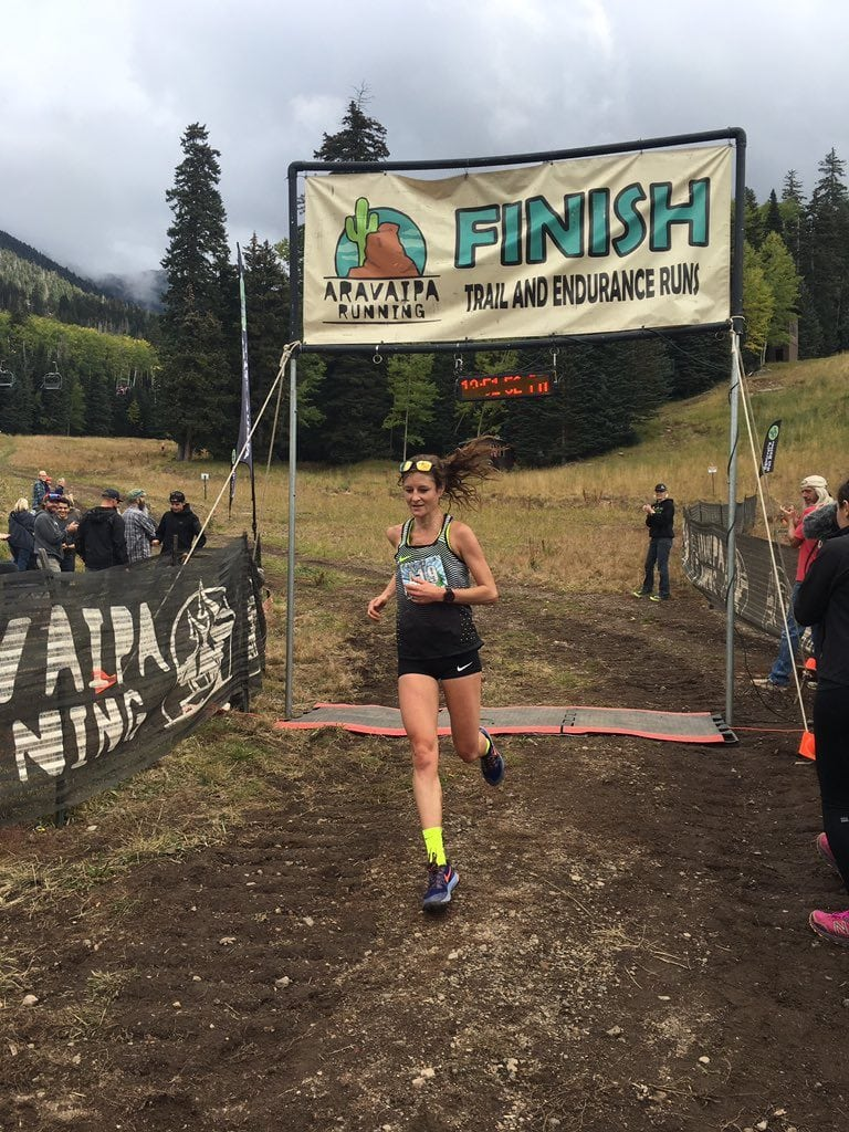 Alicia Vargo - 2016 Flagstaff Sky Race 39k champion