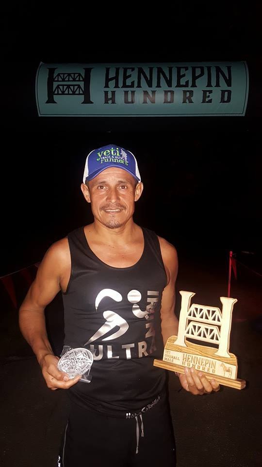 Oswaldo Lopez - 2016 Hennepin Hundred champion