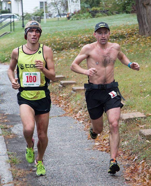 Ben Nephew and David Kilgore - 2016 Cat's Tail Trail Marathon champions