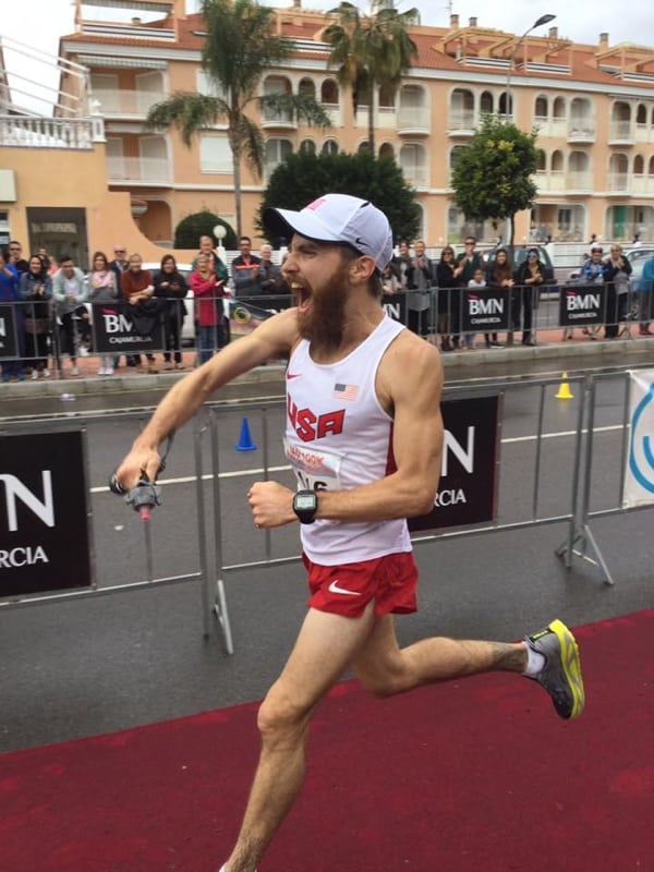 Patrick Reagan - 2016 IAU 100k World Championships third place