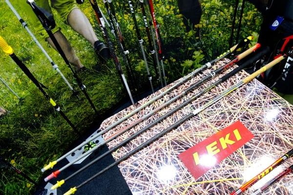 Leki Micro RCM and Vertical K Poles