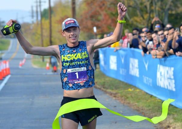 2016 JFK 50 Mile champion. Photo: Andy Mason/Herald-Mail Media