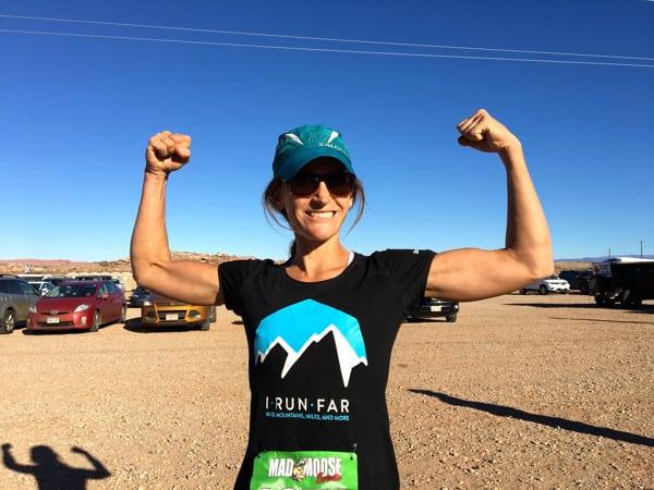 Melissa Beaury - Dead Horse 50 Mile champion
